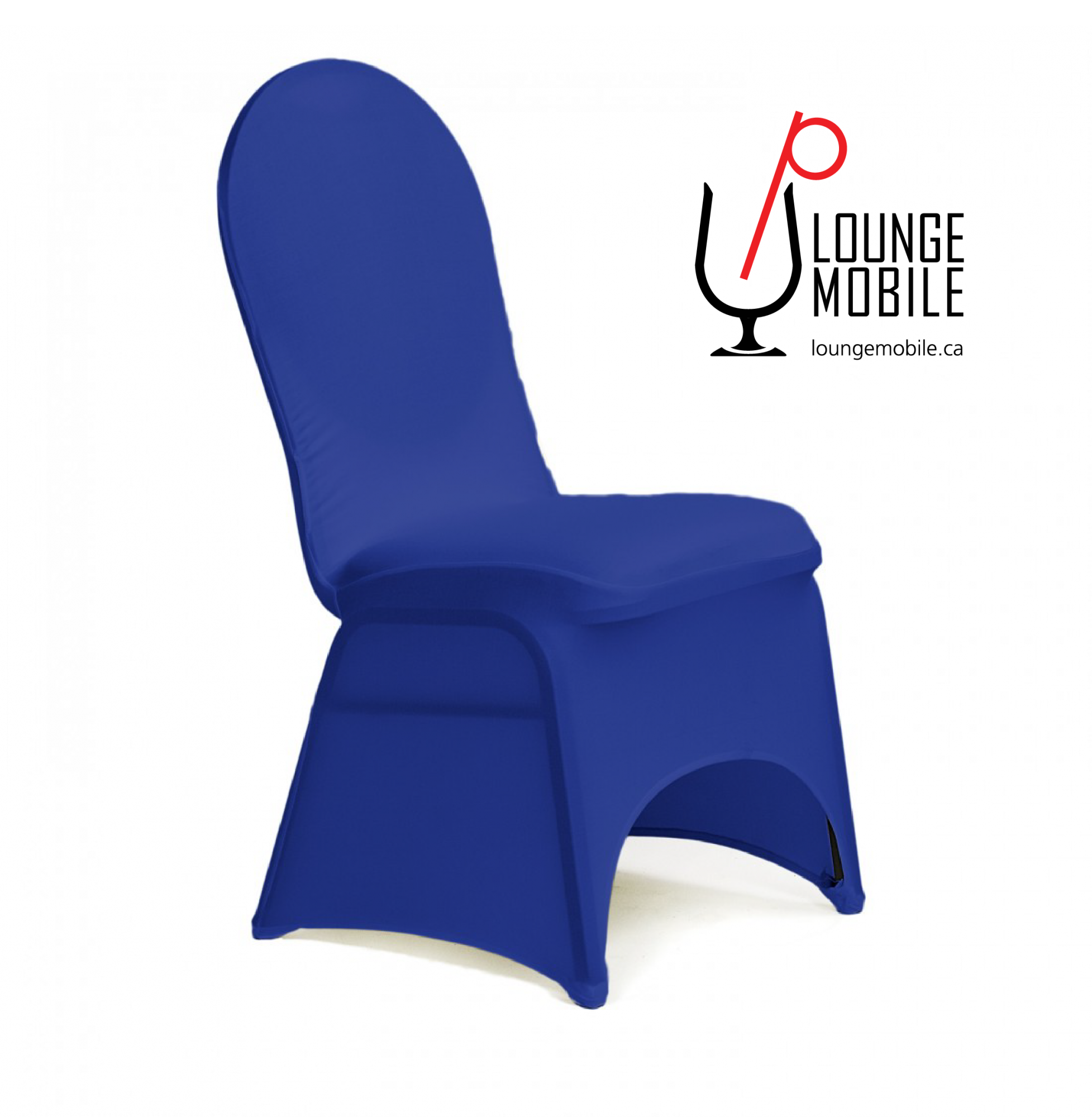 housse de chaise lycra bleu royal d coration les productions c l brason site officiel. Black Bedroom Furniture Sets. Home Design Ideas