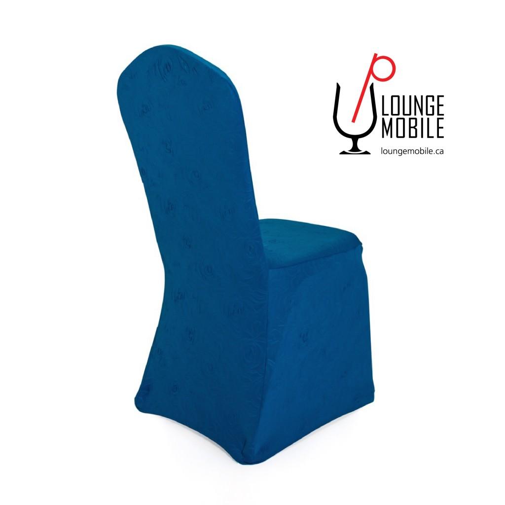 housse de chaise bleu conceptions de la maison. Black Bedroom Furniture Sets. Home Design Ideas