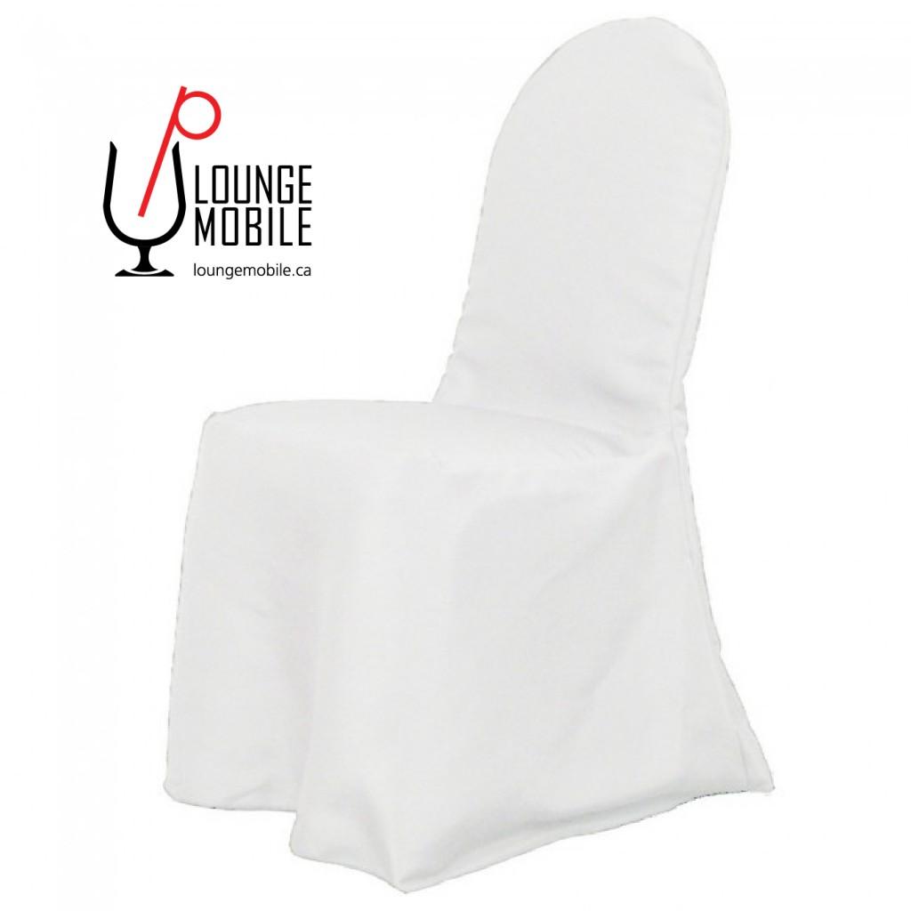 housse de chaise polyester blanc rond d coration les productions c l brason site officiel. Black Bedroom Furniture Sets. Home Design Ideas